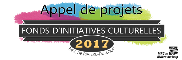 Fonds d'initiatives culturelles 2017